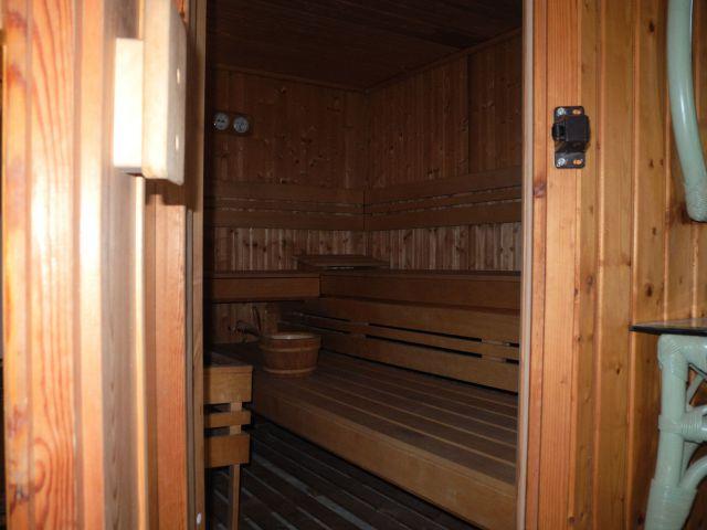 entrée au sauna