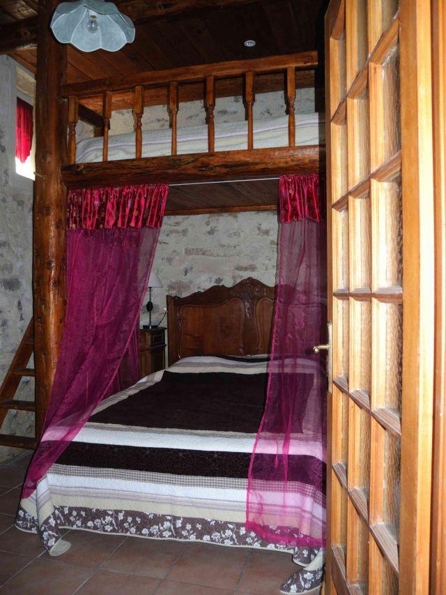le grand lit en mezzanine