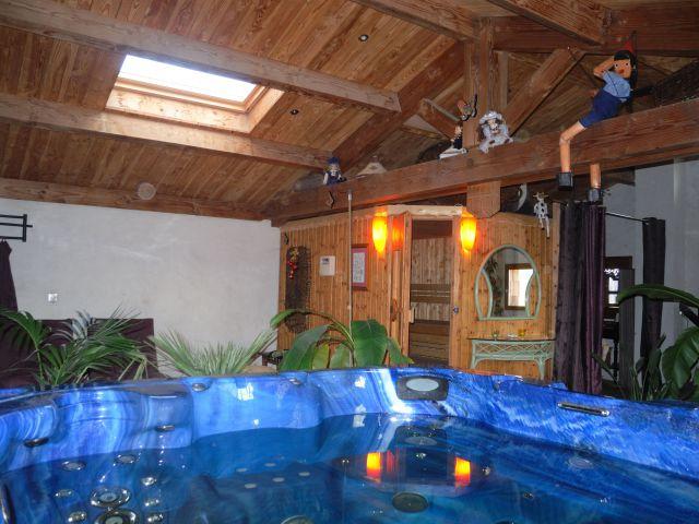 un bain avant le sauna