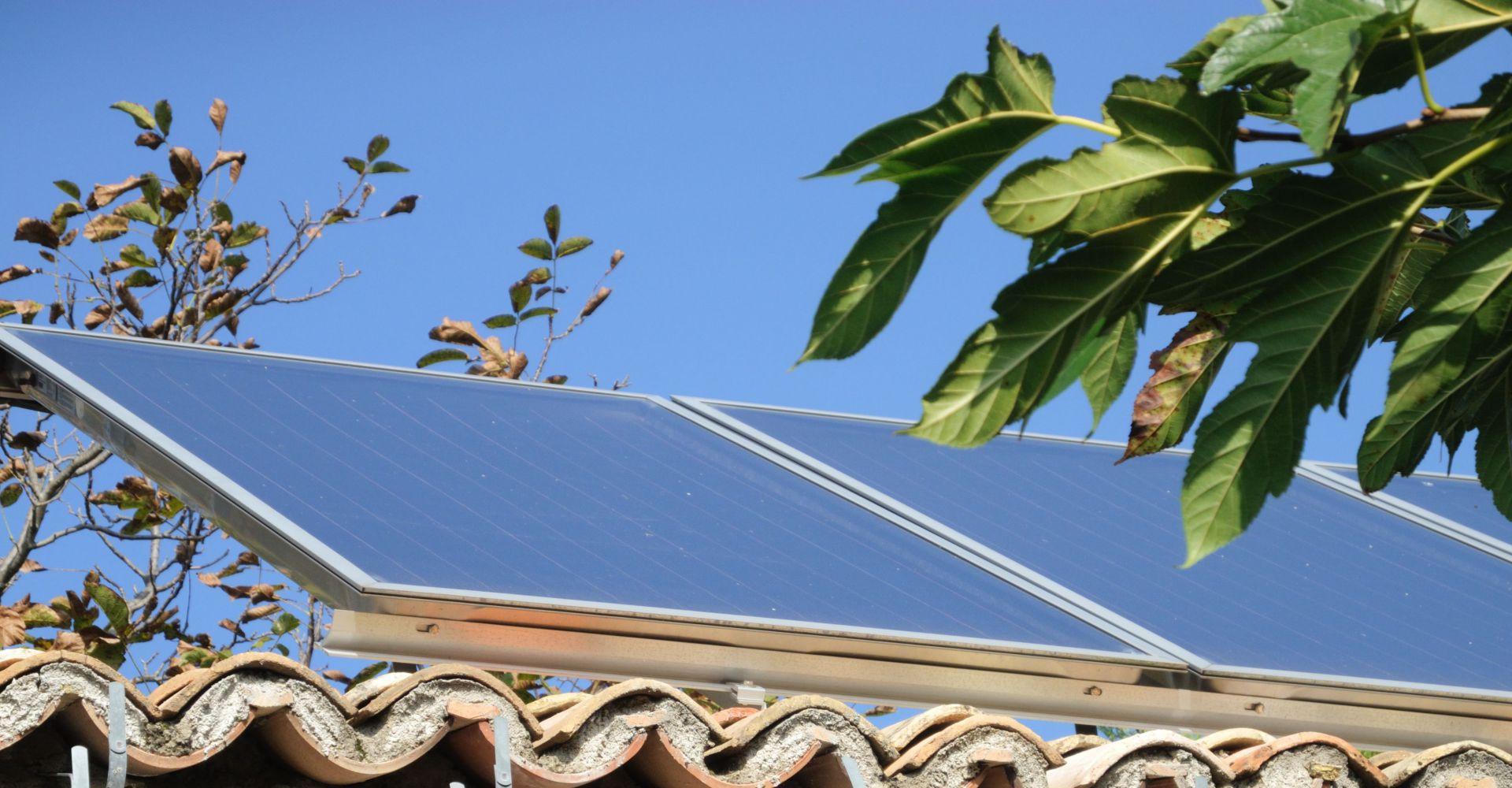 20m2 de panneaux solaires thermiques